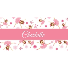 Personalised Name Sign - Ballerina Girl Design