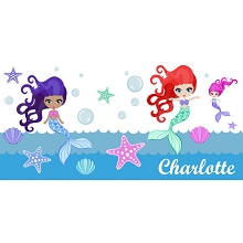 Personalised Name Sign - Mermaid
