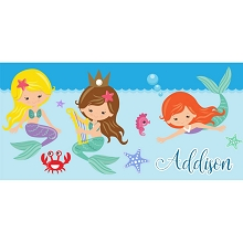 Personalised Name Sign - Mermaid II