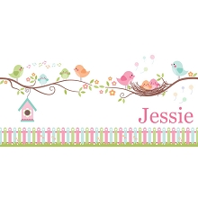 Personalised Name Sign - Birds Nest