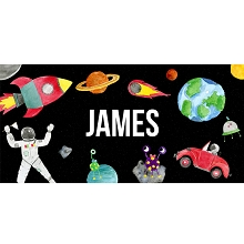 Personalised Name Sign - Outer Space