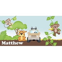 Personalised Name Sign - Zoo IIII