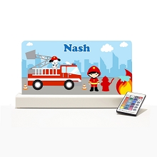 Personalised Night Light - Fire Fighter
