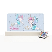 Personalised Night Light - Fairy Stars
