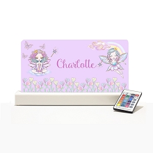 Personalised Night Light - Fairy Rainbow II