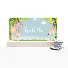 Personalised Night Light - Giraffe