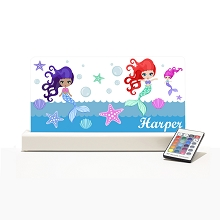 Personalised Night Light - Mermaid