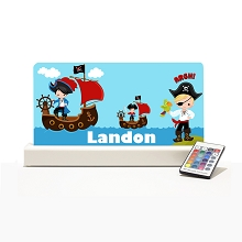 Personalised Night Light - Pirates