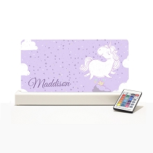 Personalised Night Light - Unicorn Design Limited Edition