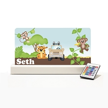 Personalised Night Light - Zoo IIII