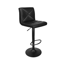Unique Two-Pattern PU Leather Bar Stools Set of 2