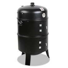 Super 3-in-1 Charcoal BBQ Smoker