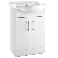 Bathroom Vanity with Ceramic Basin 88CM