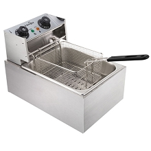 5 Star Chef Deep Fryer with Single Basket