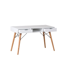 Stylish & Solid Eames Replica Study Desk White
