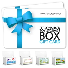 Personalised Toy Box Gift Card
