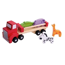 TOOKY TOY Animal Truck
