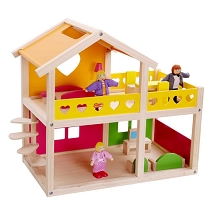 TOOKY TOY Happy Villa Doll House