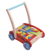 TOOKY TOY Baby Walker with Blocks