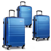 3pc Luggage Set 20, 24 and 28 Inch Navy