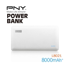 8000mAh PowerPack Universal Power Bank with output 2.1A, 5V