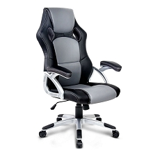 Racing Office Chair Black Grey