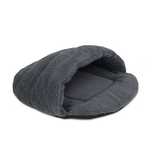 Cave Style Cat or Small Dog Pet Bed Grey Medium