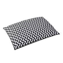 Washable Wavy Stripe Heavy Duty Cat or Dog Bed  X Large