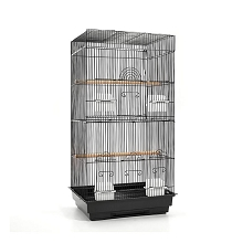 High Quality Pet Bird Cage Black Medium 88CM