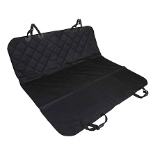 Deluxe 4 Layer PP Cotton Pet Car Seat Cover Black