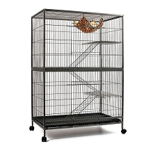 3 Level Ferret, Hamster, Rat or Bird Cage Aviary