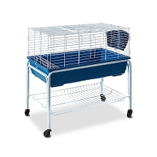 Deluxe Plastic Hutch with Stand & Wheels