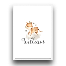 Personalised Framed Wall Art - Fox