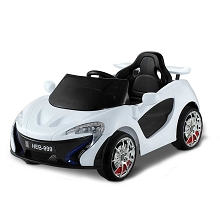 Kids Ride On Car White