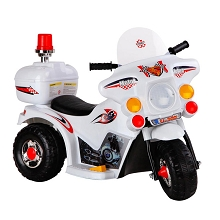Kids Ride on Motorbike White