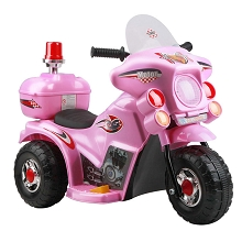 Kids Ride on Motorbike Pink
