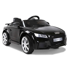 Ride on Audi TT RS Roadster Black