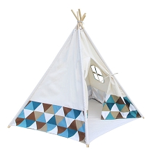 High Quality Cotton Canvas Kids 5P Teepee