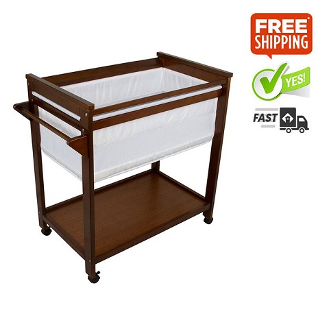 Bebe Care Crib - Walnut