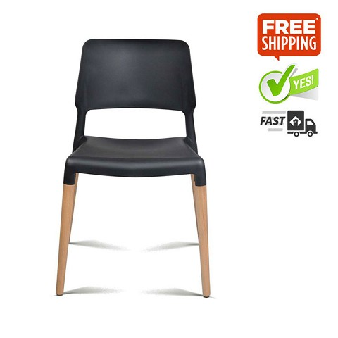 Belloch Replica Dining Chair Black Set of 4
