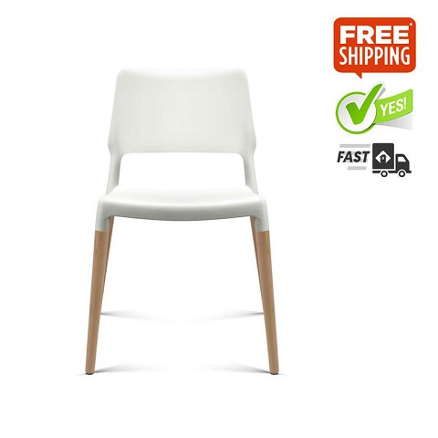Belloch Replica Dining Chair White Set of 4