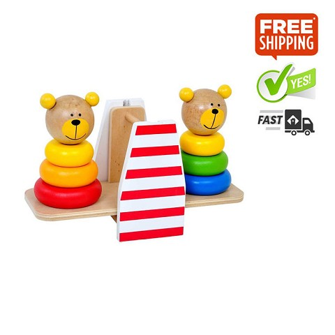 TOOKY TOY Bear Balance Stacker