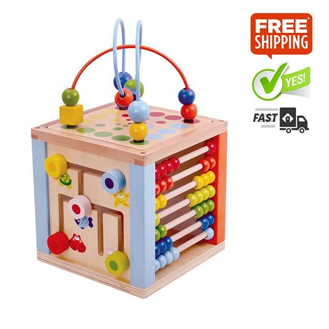 TOOKY TOY 5 in 1 Play Cube Centre