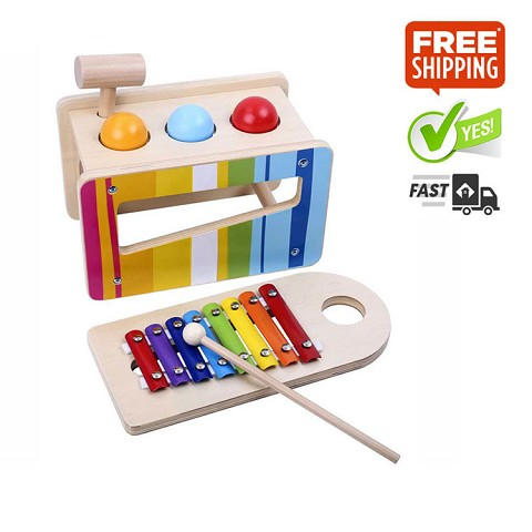 TOOKY TOY Pound and Tap Bench