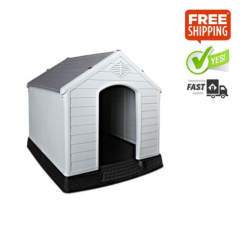 Grey Dog Kennel 99CM