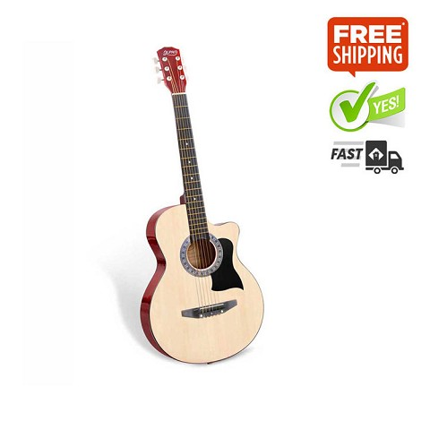 38 Inch Wooden Acoustic Guitar Natural