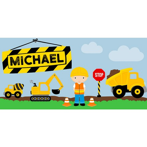 Personalised Name Sign - Construction