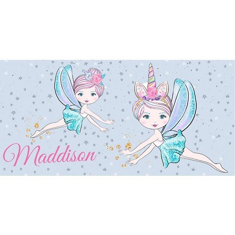 Personalised Name Sign - Fairy Stars