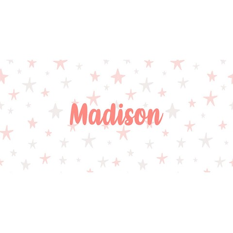 Personalised Name Sign - Dusty Pink Stars