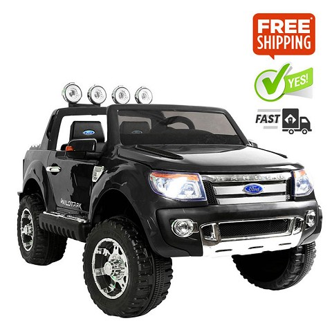 Kids Ride on Car with Remote Control Black